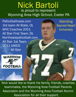 High school football ad examples pictures to pin on for High school football program template